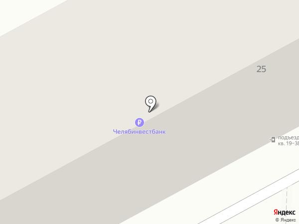 Две полоски на карте Челябинска