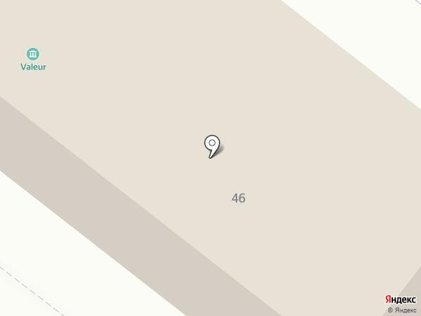 Крупнов на карте Челябинска