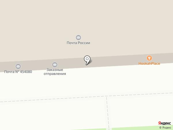Банкомат, Почта банк, ПАО на карте Челябинска