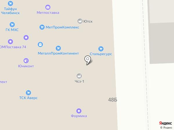 СтройТорг на карте Челябинска