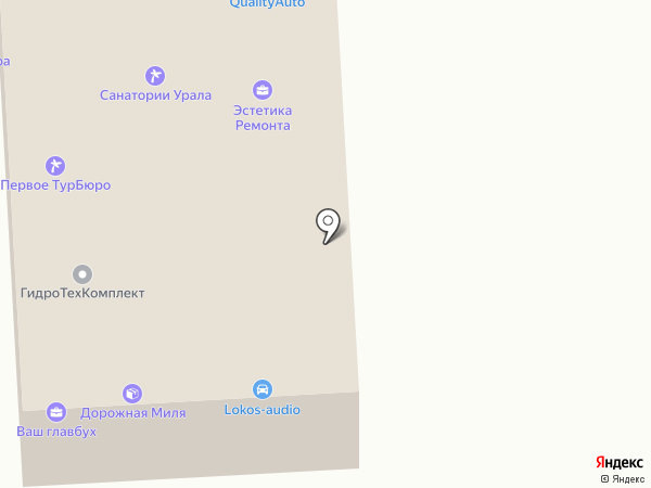 КВАЛИТИАВТО на карте Челябинска