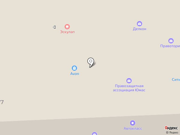 Воздух 74 на карте Челябинска