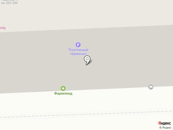 Атлантис ТК на карте Челябинска