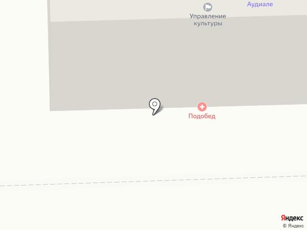 Шифт на карте Челябинска