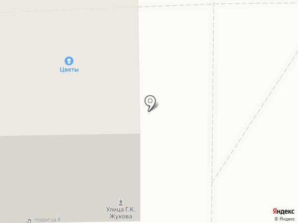 Сметана на карте Челябинска