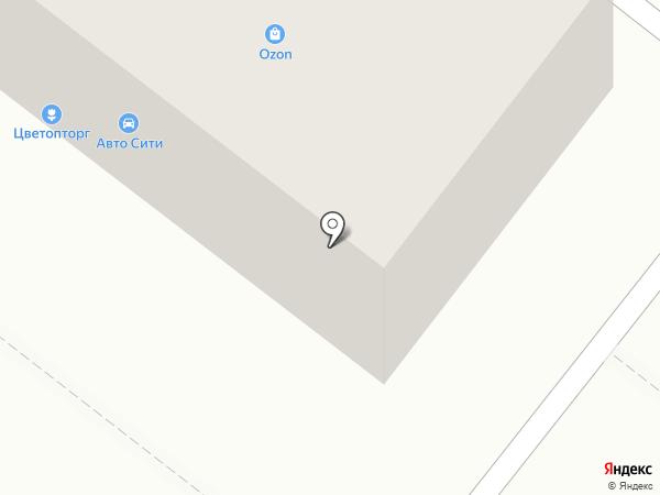 Автодок на карте Челябинска
