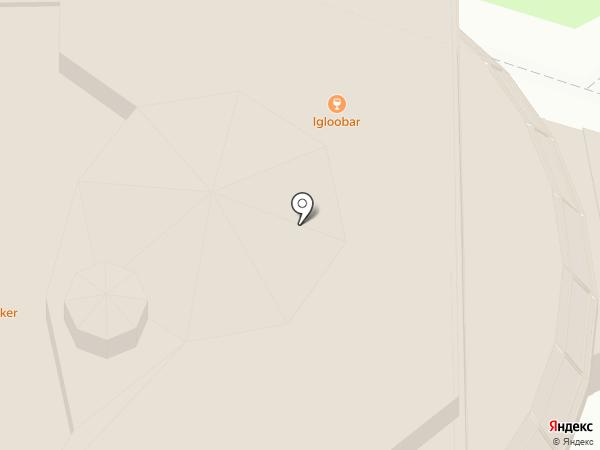Леденец на карте Челябинска