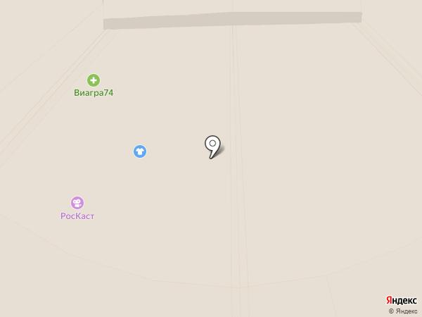 Банкомат, Газпромбанк на карте Челябинска