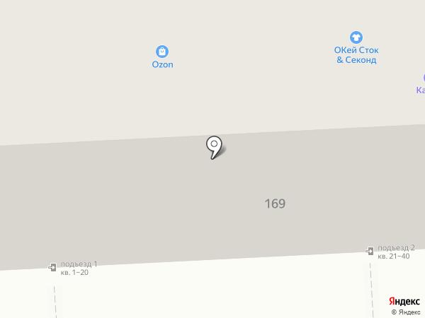 Автодеталь на карте Челябинска