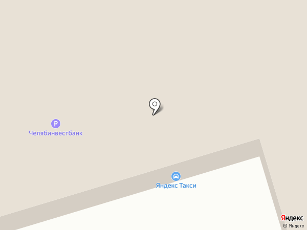 Ромашка на карте Челябинска