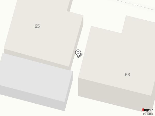 Route 69 на карте Челябинска