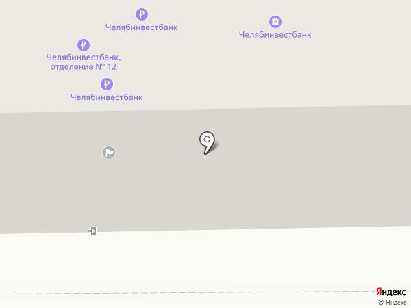 Баск на карте Челябинска