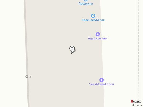 Надежда и В на карте Челябинска