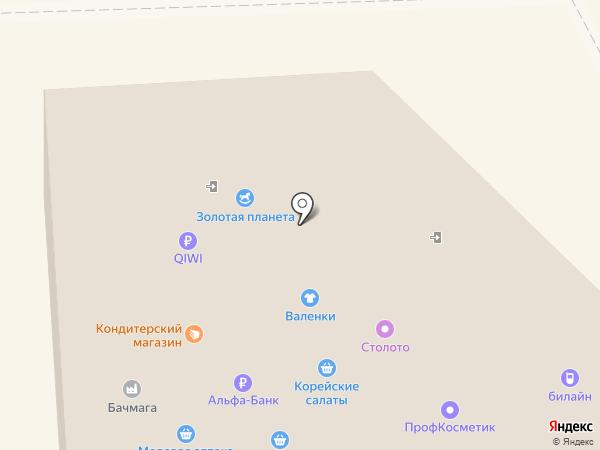 Винный магазин на карте Челябинска
