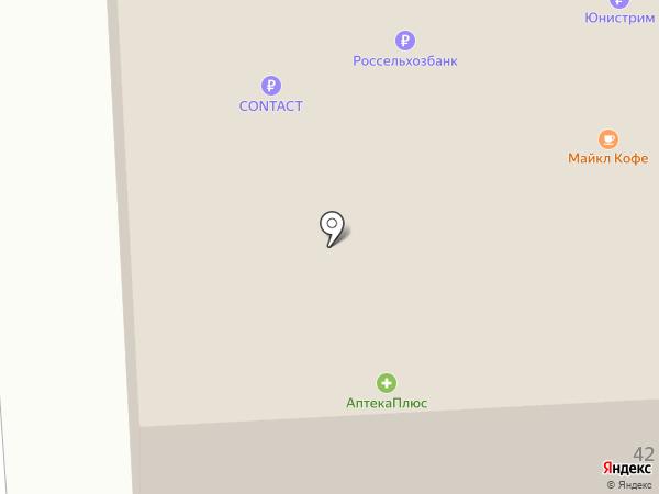 Банкомат, Россельхозбанк на карте Челябинска