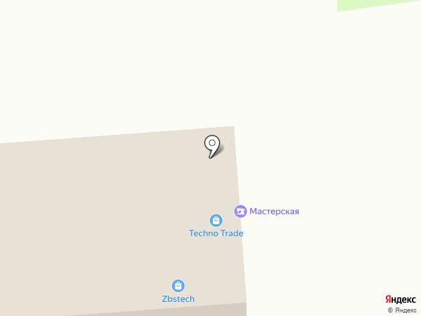 Ремонтная мастерская на карте Челябинска