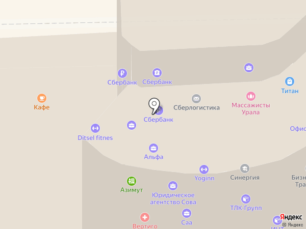ТОПЕНАР на карте Челябинска