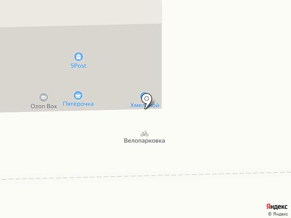 Магазин корейских салатов на карте Челябинска