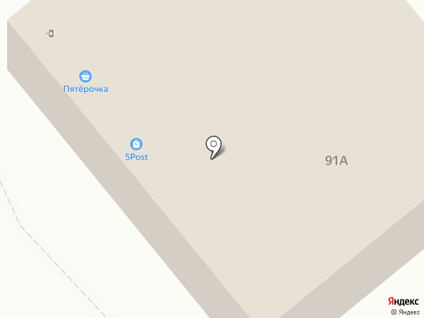 Урал Вектор плюс на карте Челябинска