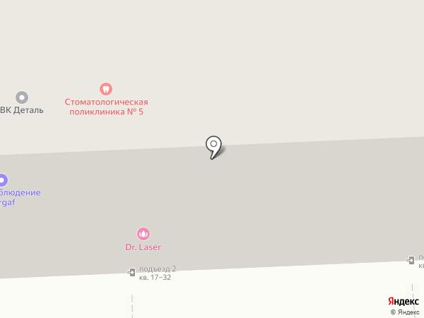 Парикмахерская на ул. Тимирязева на карте Челябинска