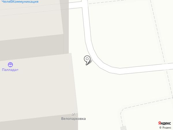 Вита Белла на карте Челябинска