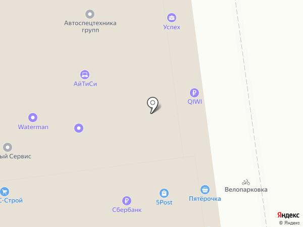 Миракс на карте Челябинска