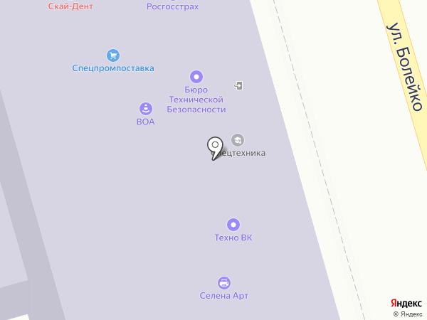 Вагондеталь на карте Челябинска