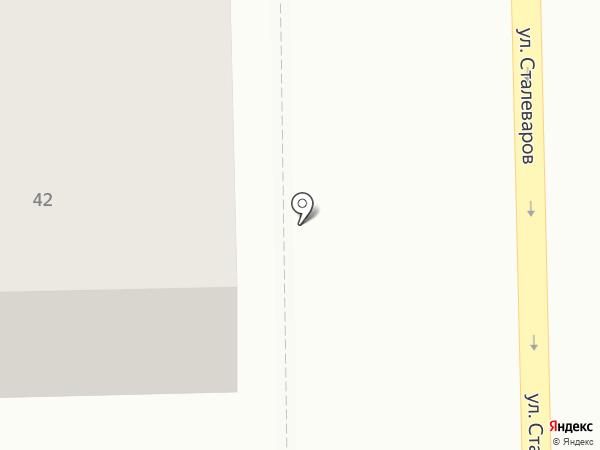 Первый Кеговый на карте Челябинска