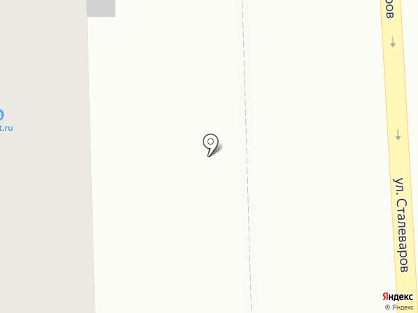 Медведь на карте Челябинска