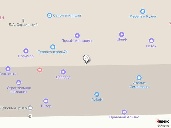 ПромИнжиниринг на карте Челябинска