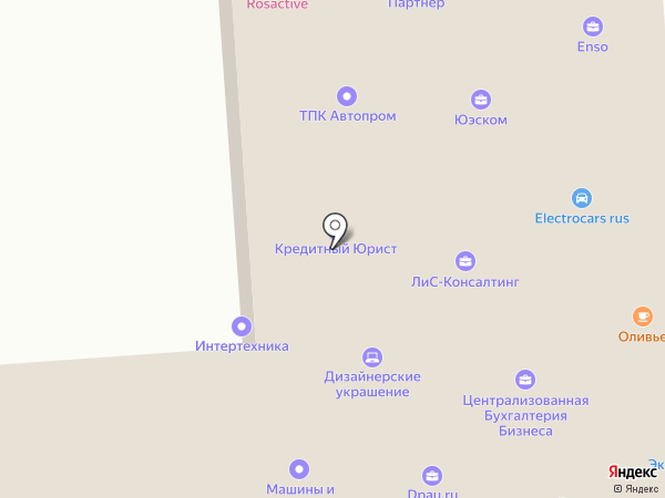 Аксиома на карте Челябинска