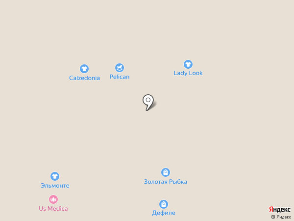 Lady look на карте Челябинска