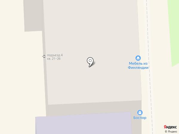Боспор на карте Челябинска