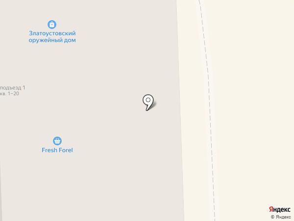 Златоустовский Оружейный Дом 21 век на карте Челябинска