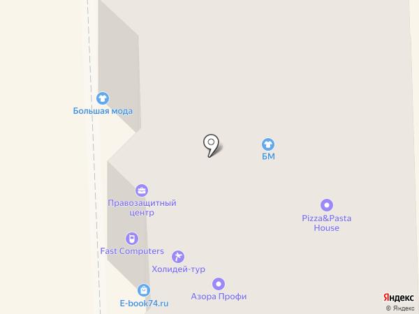 Vanda на карте Челябинска