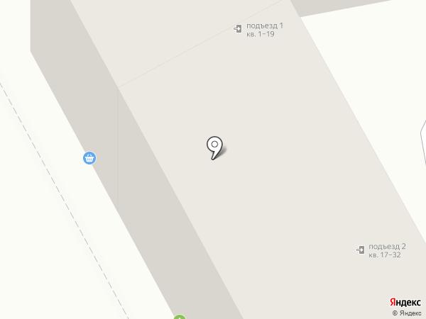 Живика на карте Челябинска