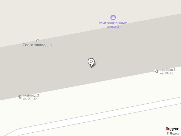 Крокус на карте Челябинска