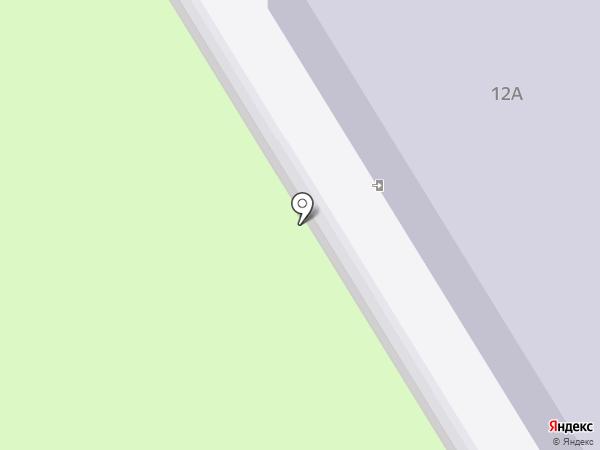 Детский сад №10 на карте Челябинска