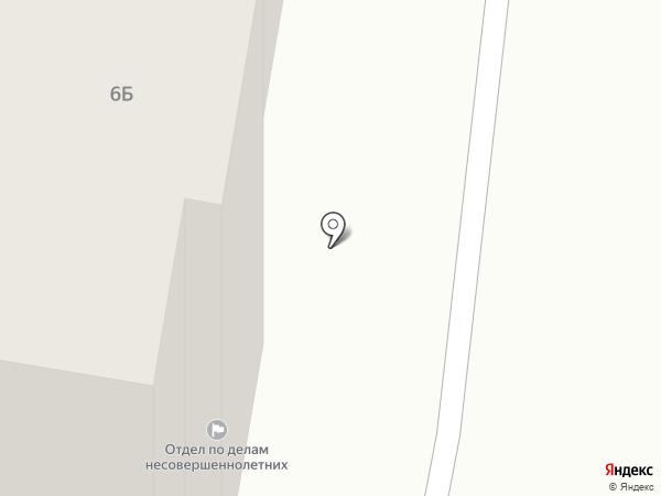 Отдел по делам несовершеннолетних на карте Челябинска