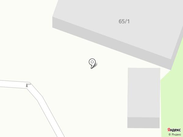 Лонщаков К.М. на карте Челябинска