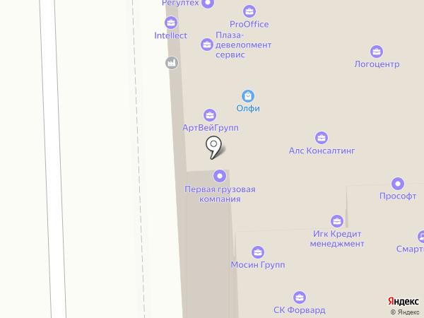 Анекс Тур на карте Челябинска