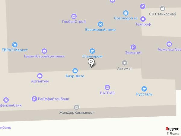 APOOL на карте Челябинска