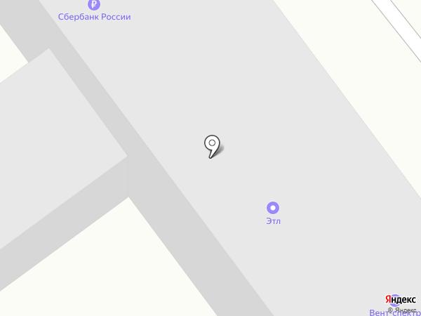 ВЕНТ-СПЕКТР на карте Челябинска