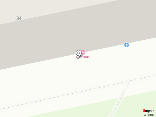 Панама на карте Челябинска