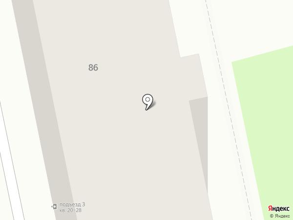 Роса на карте Челябинска