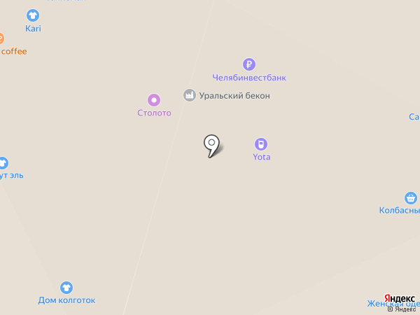Связной на карте Челябинска