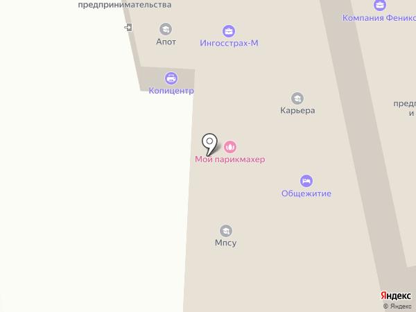 Фемида на карте Челябинска