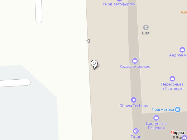 Оптима на карте Челябинска