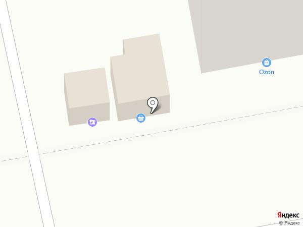 Магазин овощей и фруктов на карте Челябинска