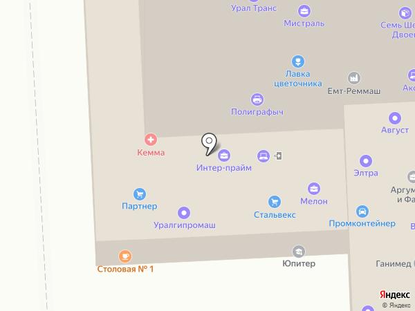 Gidruss на карте Челябинска